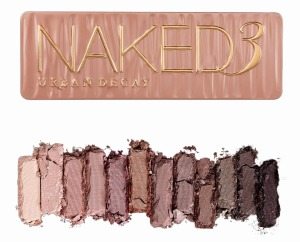 naked 3 palette swatch
